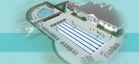 Shodeen gifts mill creek pool to geneva park district for M park geneve