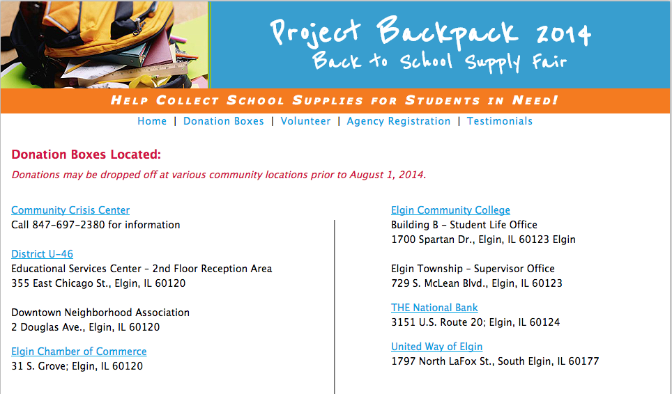 Project Backpack How To Give School Supplies To Students In Need