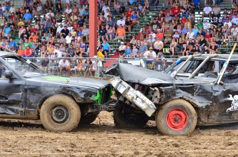 Kane Fair demolition derby