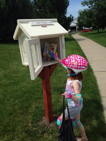 Little Free Library in Montgomery
