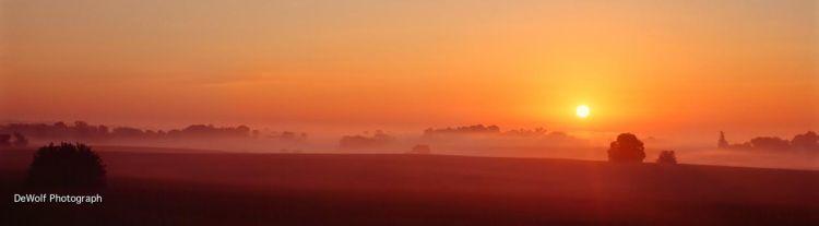 Sunrise, DeWolf photograph